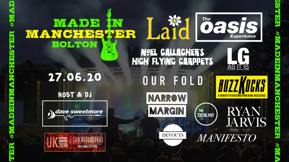 Made In Manchester Bolton Lineup 2020